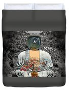 The Great Buddha Duvet Cover