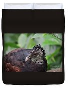 The Great Curassow 3 Duvet Cover