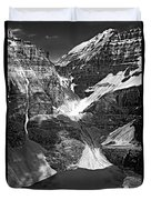 The Great Divide Bw Duvet Cover