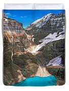 The Great Divide Duvet Cover