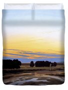 The Great Enclosure Near Dresden Duvet Cover