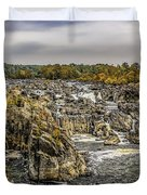 The Great Falls Of The Potomac Duvet Cover