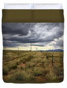 The Great Plains Of New Mexico Duvet Cover
