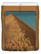 The Great Pyramid Duvet Cover