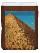 The Great Pyramid. Giza Duvet Cover