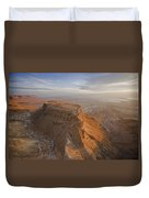 The Great Refuge Of Masada Looms Duvet Cover