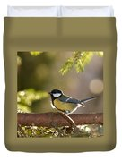The Great Tit   Duvet Cover