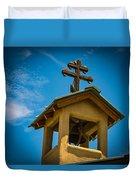 The Greek Orthodox Belfry Duvet Cover