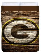 The Green Bay Packers 1b Duvet Cover