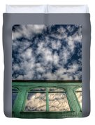 The Green Carriage Duvet Cover
