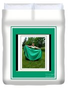 The Green Dress Duvet Cover