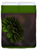 The Green Flower Duvet Cover