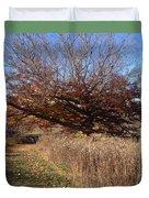 The Green Grass Road Duvet Cover
