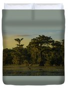The Green Green Trees Of Home Duvet Cover