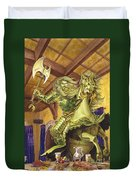The Green Knight Duvet Cover