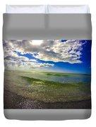 The Green Sea Duvet Cover