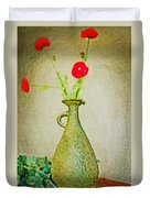 The Green Vase Duvet Cover