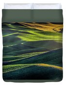 The Green Waves Of Palouse Wa Dsc05032  Duvet Cover