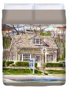 The Greystone Inn In Brigadoon Duvet Cover