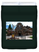 The Grotto Of Redemption In Iowa Duvet Cover