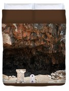 The Grotto Of The God Pan Duvet Cover