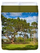 The Grounds Of The Kingsley Plantation Duvet Cover
