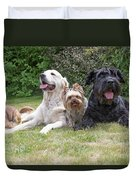 The Group Of Dogs Duvet Cover