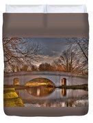 The Grove Bridge On The Grand Union Canal  Duvet Cover