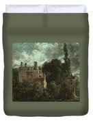 The Grove Or The Admiral's House In Hampstead Duvet Cover