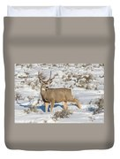 The Gtnp Mule Deer Buck Duvet Cover