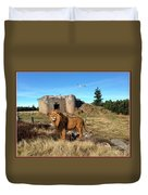 The Guard Of The Ruins 22 Duvet Cover