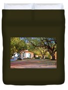 The Guest House  Duvet Cover by Donna Greene