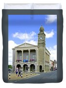 The Guild Hall At Newport Duvet Cover