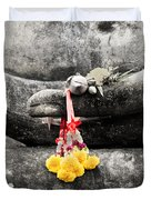 The Hand Of Buddha Duvet Cover