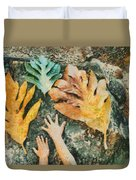 The Hands 2 Duvet Cover