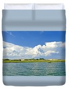 The Handys Camp On Sandy Neck Duvet Cover