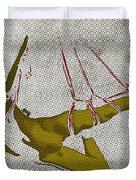 The Hanging Girl I Duvet Cover by Sandra Hoefer
