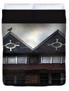 The Harbinger Duvet Cover