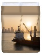 The Harbor Duvet Cover
