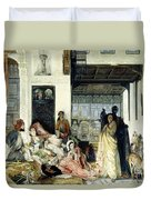 The Harem Duvet Cover by John Frederick Lewis