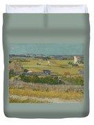 The Harvest Arles  June 1888 Vincent Van Gogh 1853  1890 Duvet Cover
