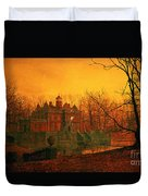 The Haunted House Duvet Cover