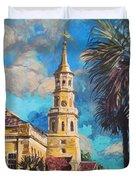 The Heart Of Charleston Duvet Cover