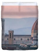 The Heart Of Florence Italy Duvet Cover