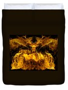 The Heat Of Passion Duvet Cover