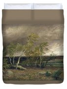 The Heath In A Storm Duvet Cover