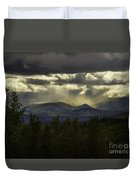 The Heavens And The Earth Duvet Cover