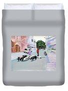 The Herd 5 - Pigs Duvet Cover
