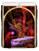 The Hermit Duvet Cover by John Edwards