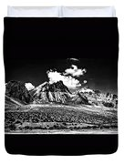 The High Andes Monochrome Duvet Cover